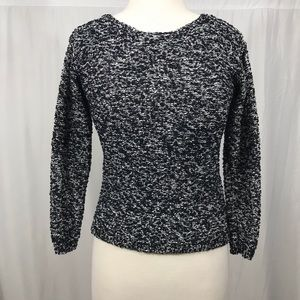 Alice + Olivia textured speckled sweater small